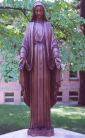 Mary Statue at Our Lady of Grace